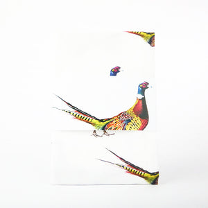 Pheasant Patterned Tea Towel
