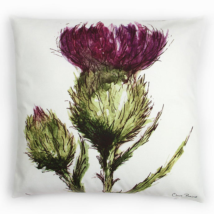 THISTLE - FLOWER OF SCOTLAND CUSHION