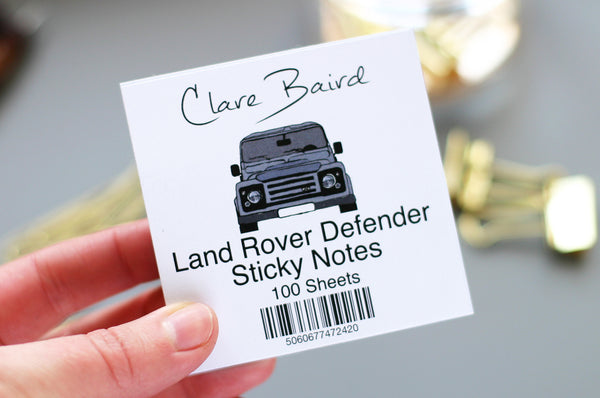 Land Rover Sticky Notes