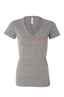 Bella+Canvas Women's Triblend Deep V-neck Tee #8435