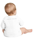 Rabbit Skins Infant Long Sleeve Baby Rib Bodysuit #RS4411