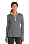 Nike Ladies Dri-FIT Stretch 1/2-Zip Cover-Up #779796