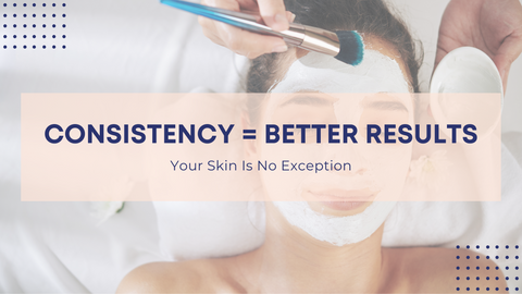 Consistency = Better Results, Your Skin Is No Exception.