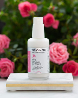 Body Deli: Rose Geranium Cleanser