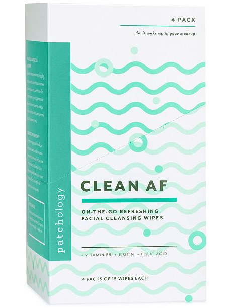 Patchology: Clean AF Facial Cleansing Wipes