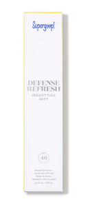 Load image into Gallery viewer, Supergoop: Defense Refresh Setting Mist SPF 50
