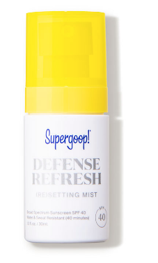 Supergoop: Defense Refresh Setting Mist SPF 50