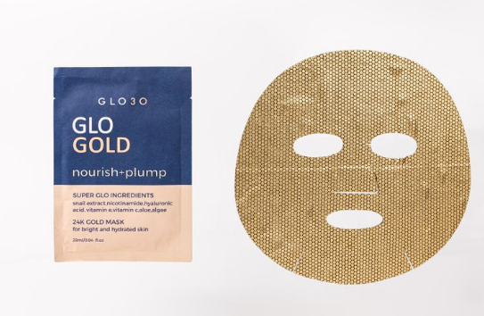 GLO GOLD Nourish & Plump Face Mask