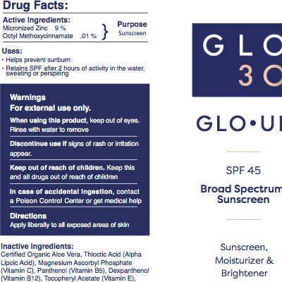 GLO•UP Sunscreen & Moisturizer