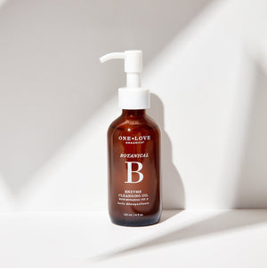 One Love Organics: Vitamin B Enzyme Cleansing Oil + Makeup Remover