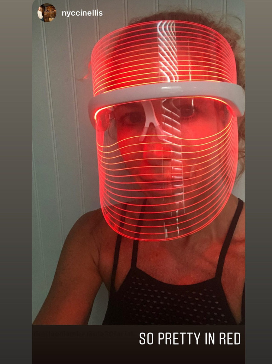GLO SHIELD - LED Light Therapy Mask