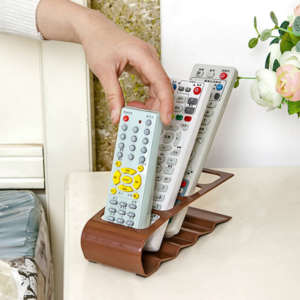 Section Home Appliance TV DVD VCR Remote Control Stand Holder Storage Organiser Mobile Phone Holder