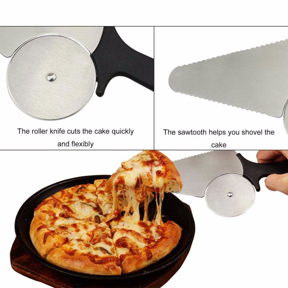 Multifunctional Stainless Steel Pizza Cutter