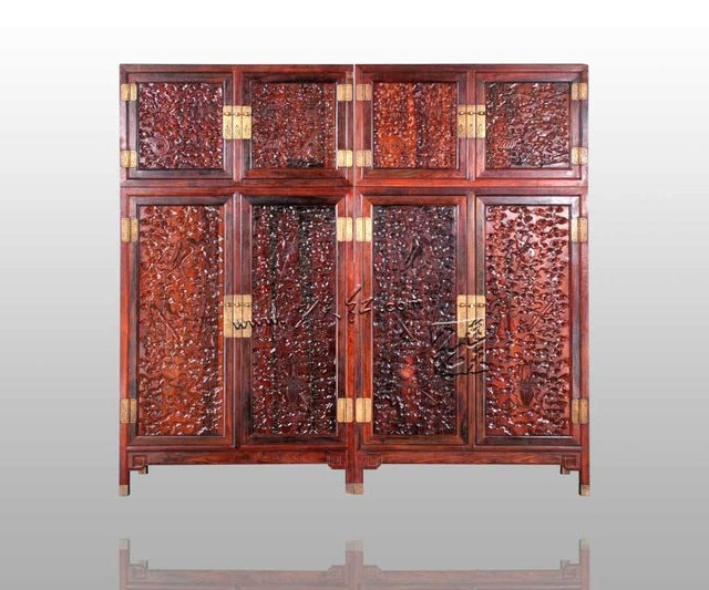 New Classical Antique Chinese style Rosewood Wardrobe