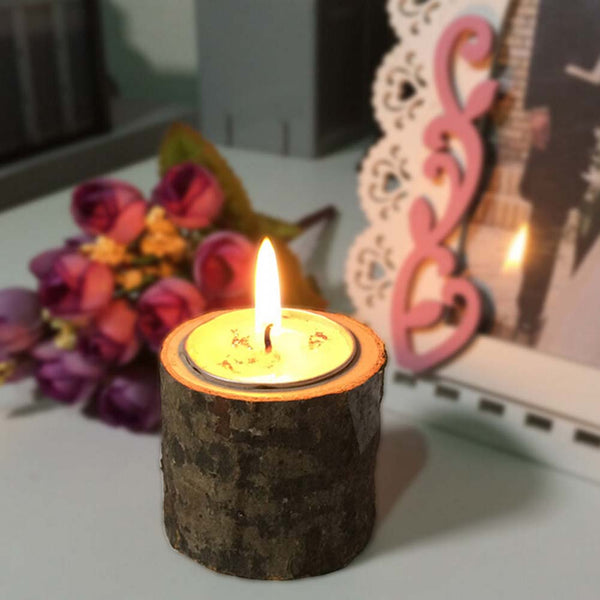 Wooden Candlestick Wood Candle Holders