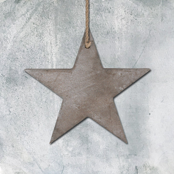Thick wooden star