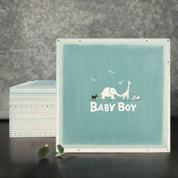 East of India Baby Boy keepsake box