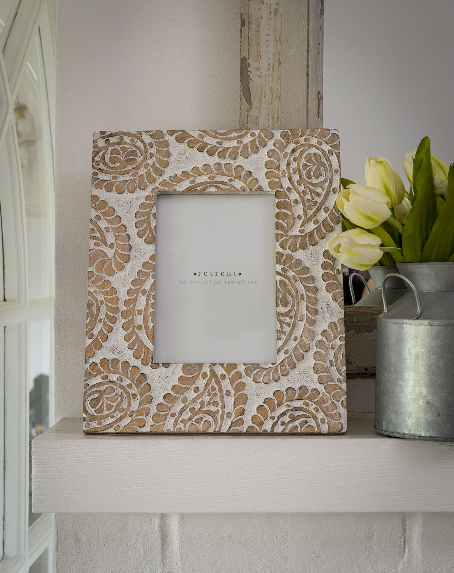 Patterned photo frame 6x4