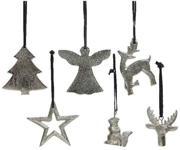 Silver Hanging Decoration