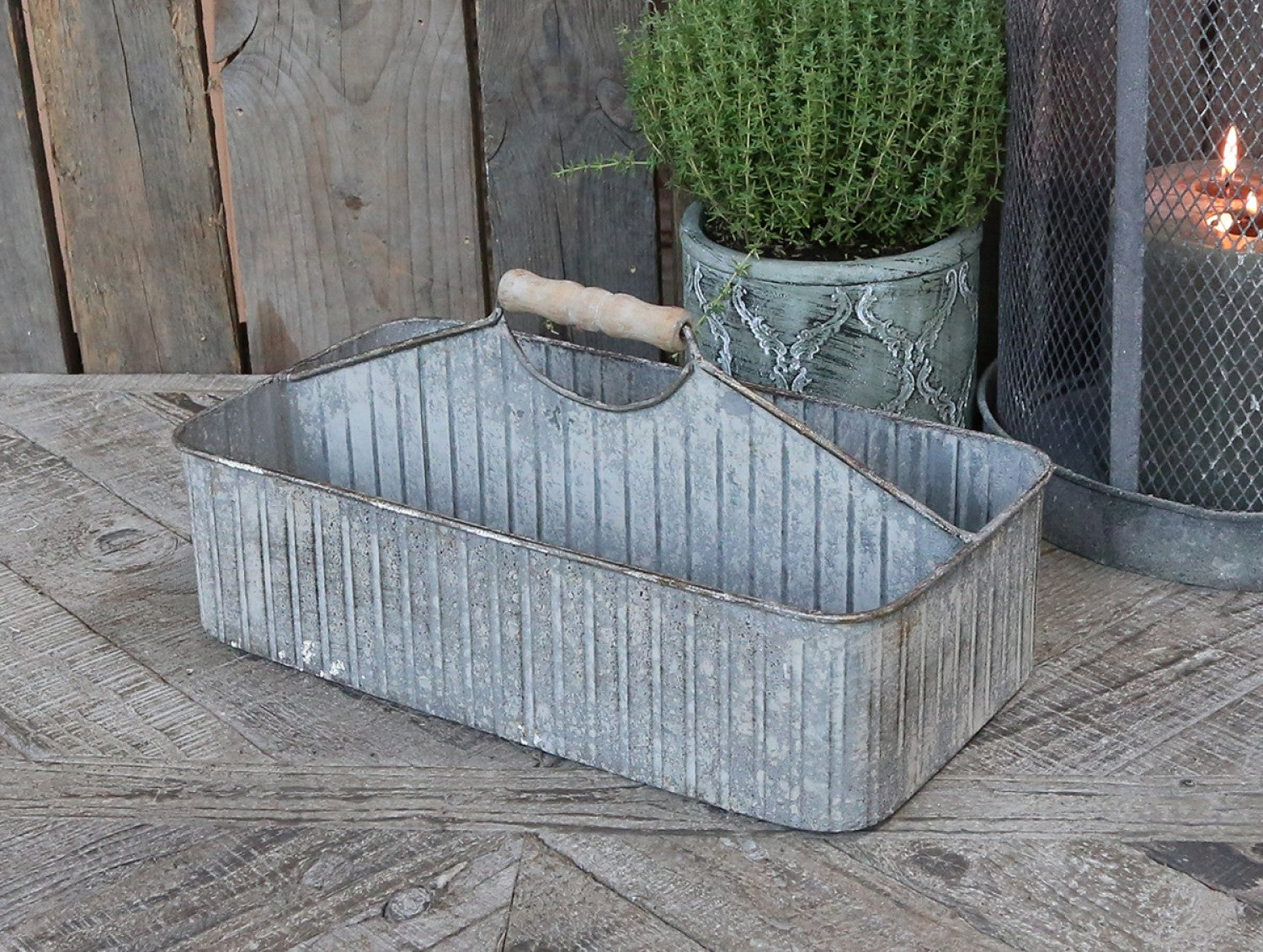 Metal storage caddy