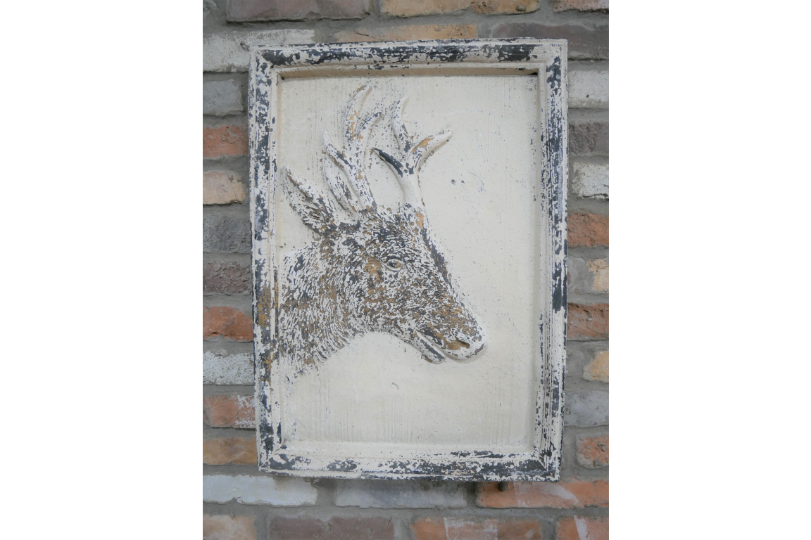 Wooden Deer Wall Art