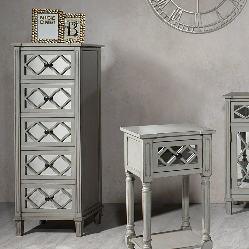 Dove Grey Mirrored Furniture Collection *SALE*