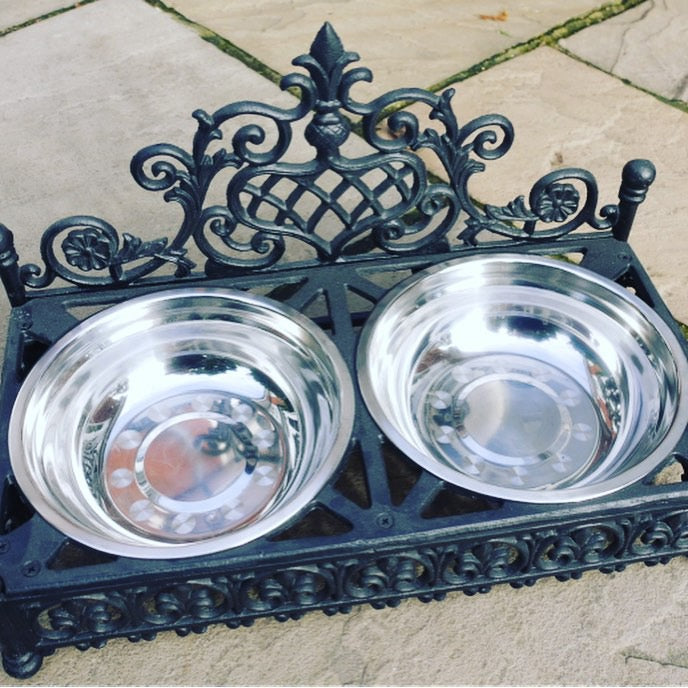 Cast Iron pet bowl - 2 sizes