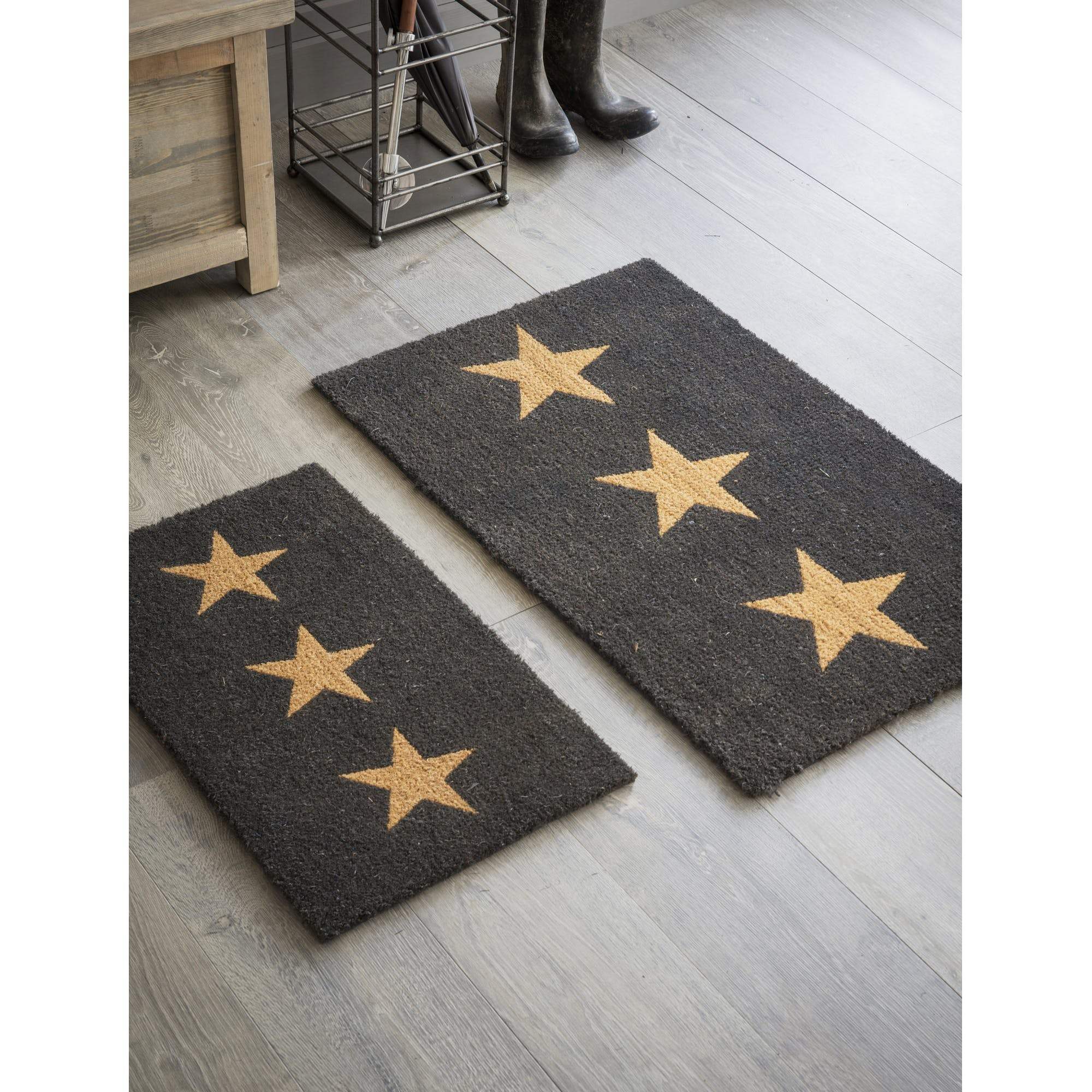 Three Star Doormat