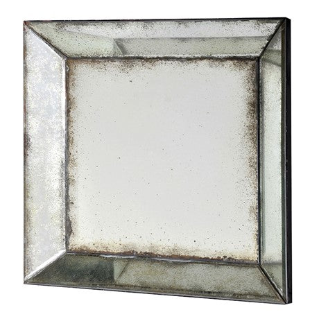 Square Venetian Antiqued Mirror