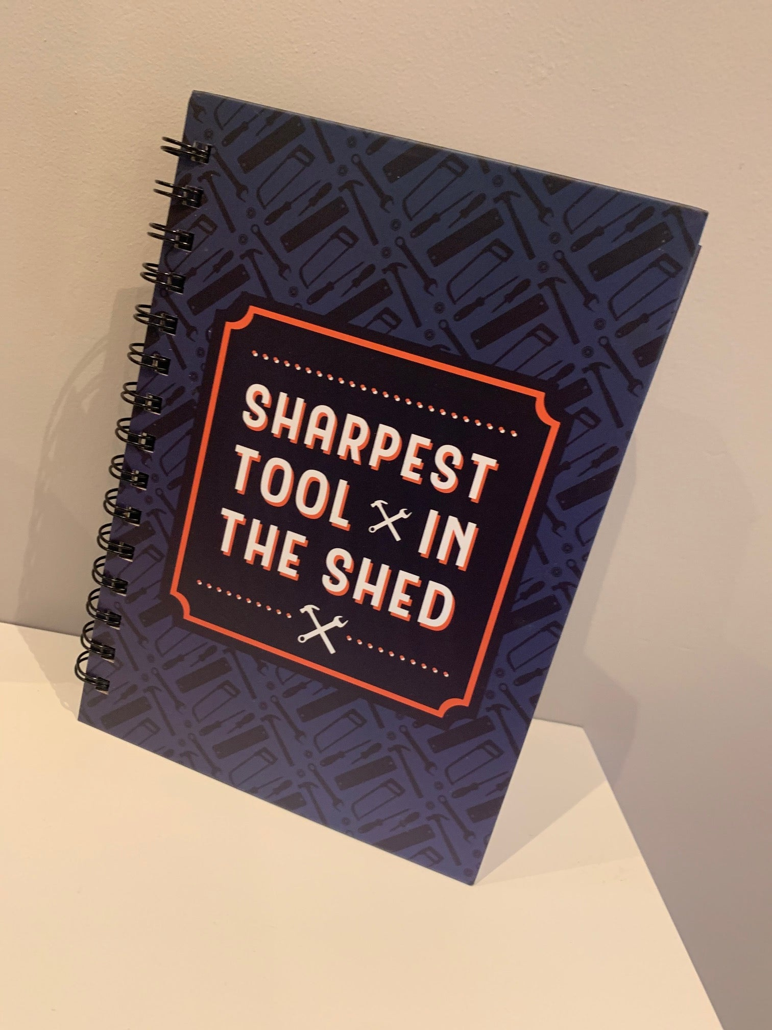 Sharpest tool in the shed notebook