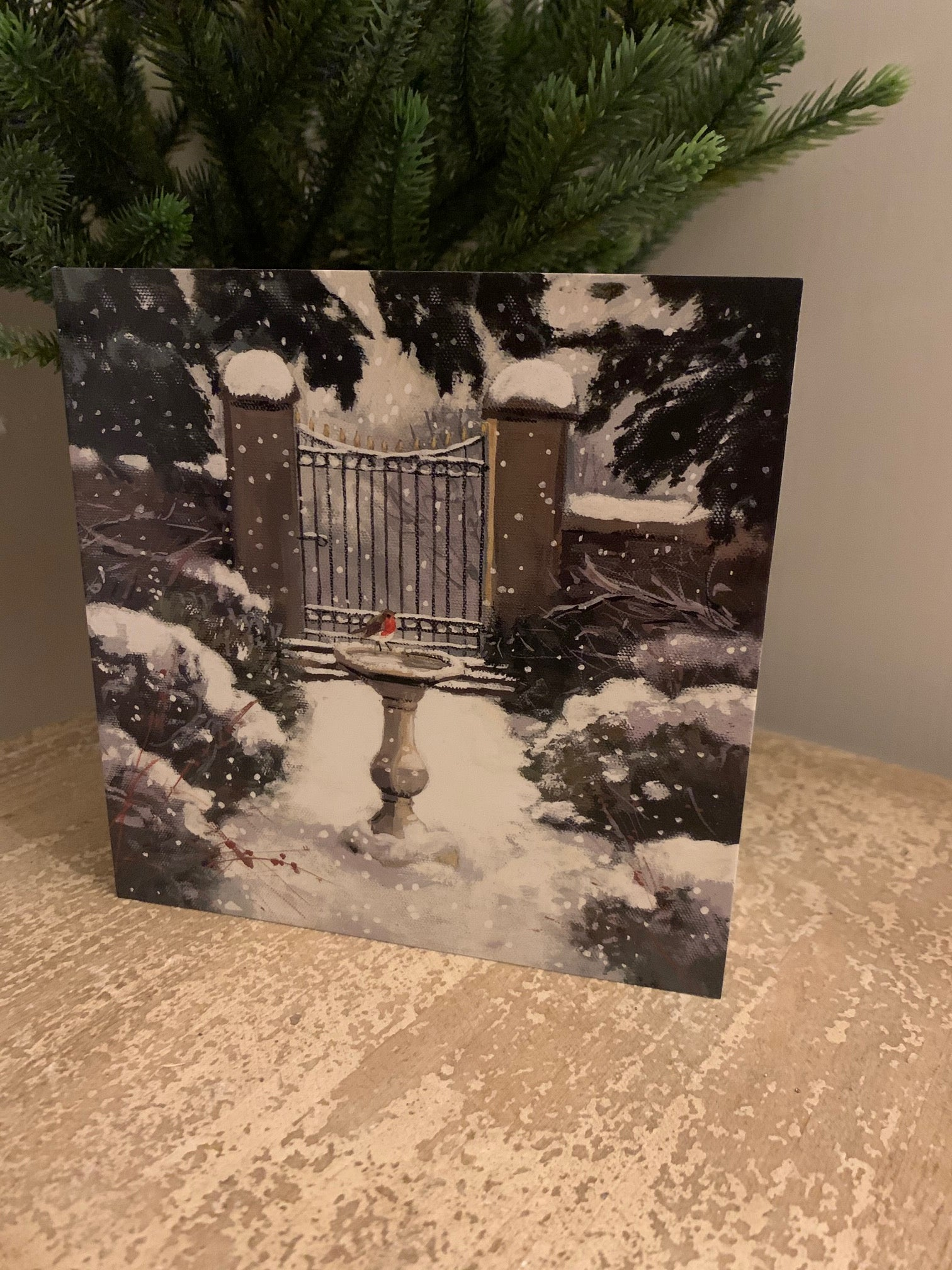 Christmas Cards - Pack of 6 - 'Winter Garden'