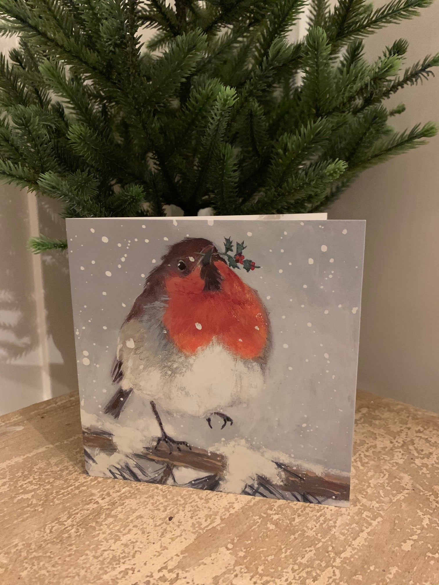 Christmas Cards - Pack of 6 - 'Little Red Robin'