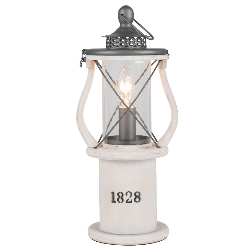 Fishermans lantern style table lamp