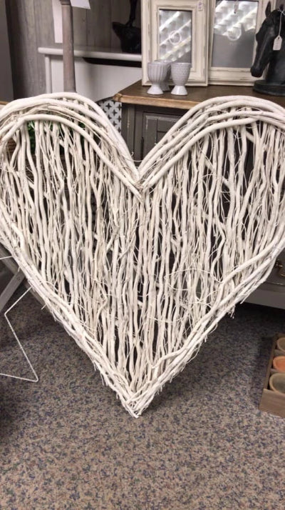 White willow heart