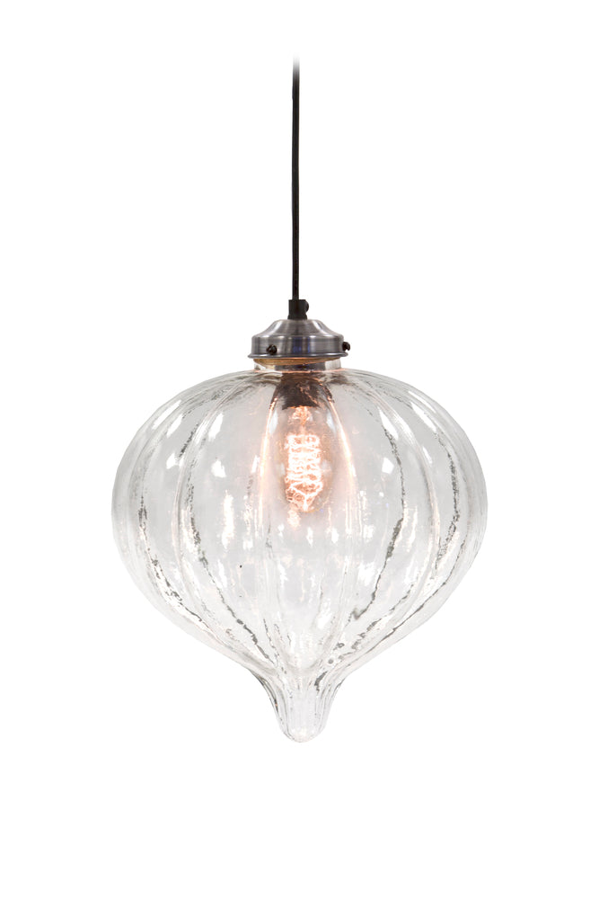 Glass Droplet Ceiling Light