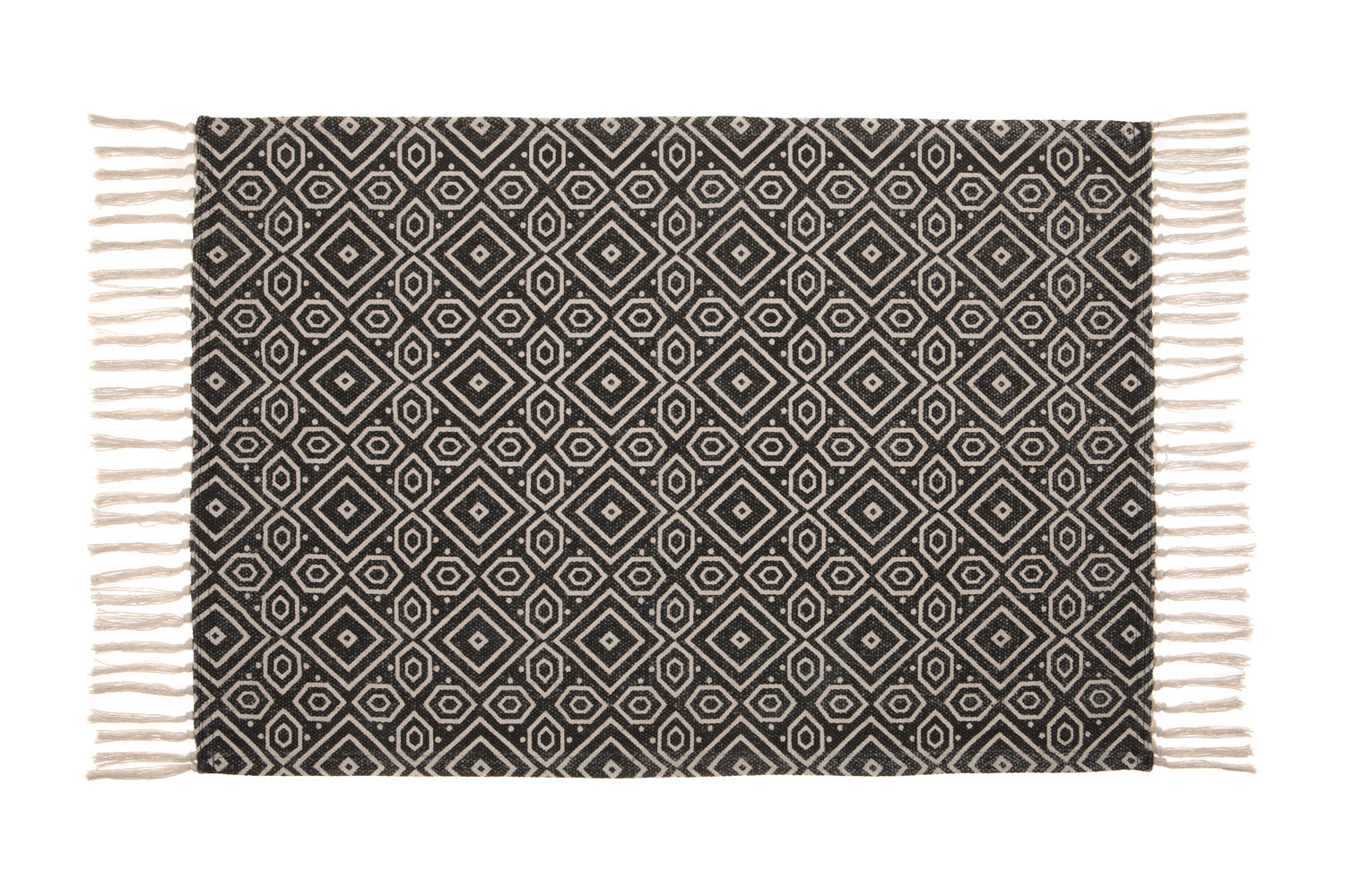 Black and White Surat Rug