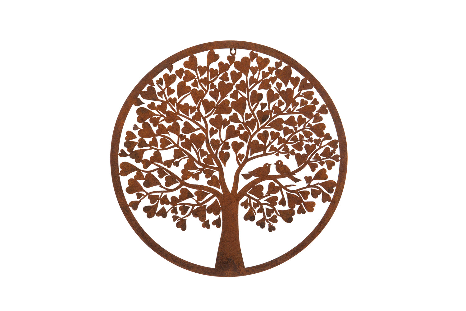 Heart tree wall plaque