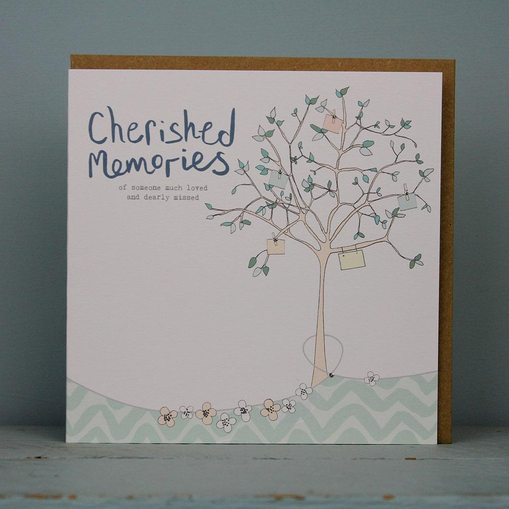 Cherished Memories - Sympathy Card