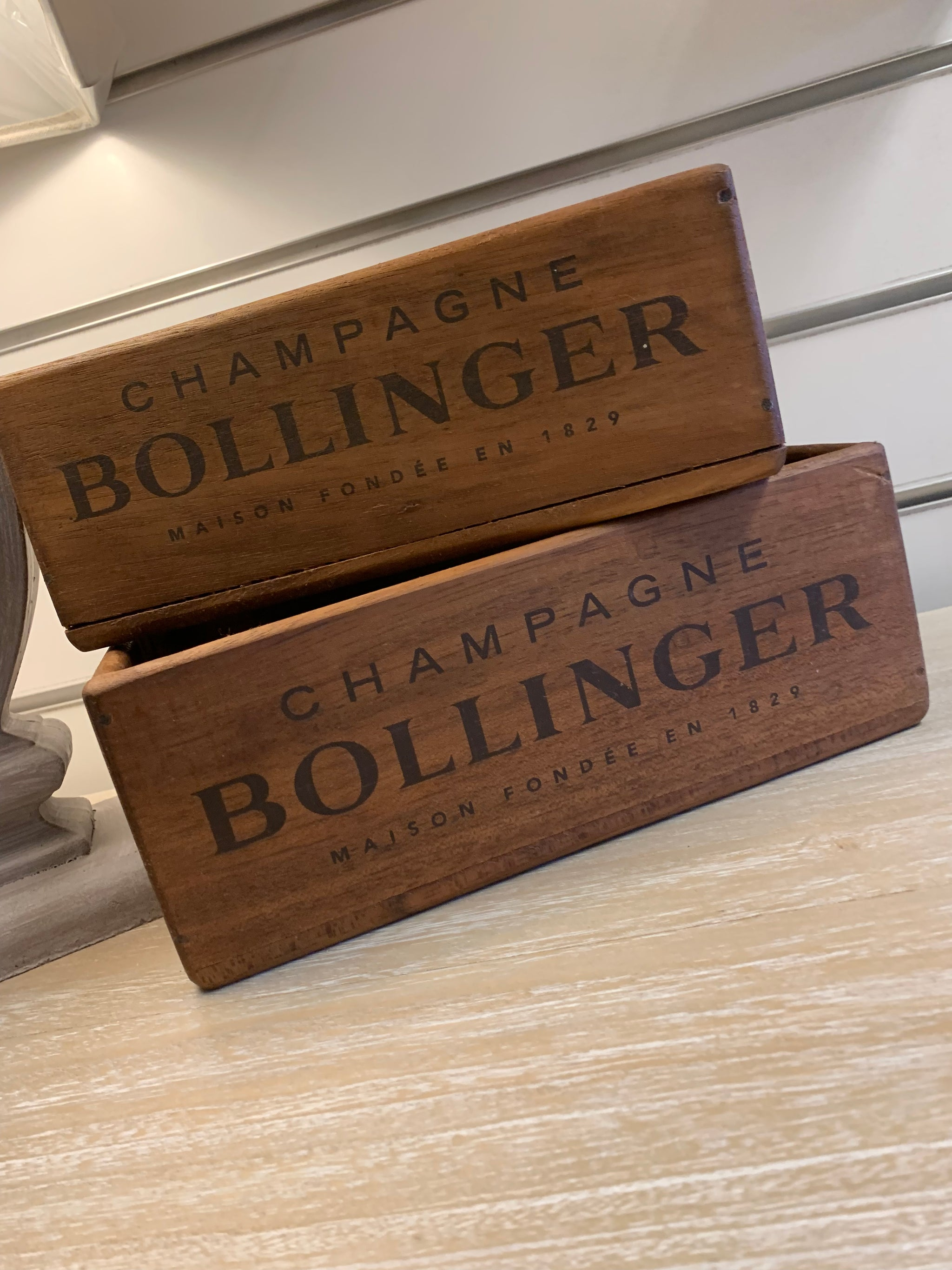 Bollinger Wooden Boxes