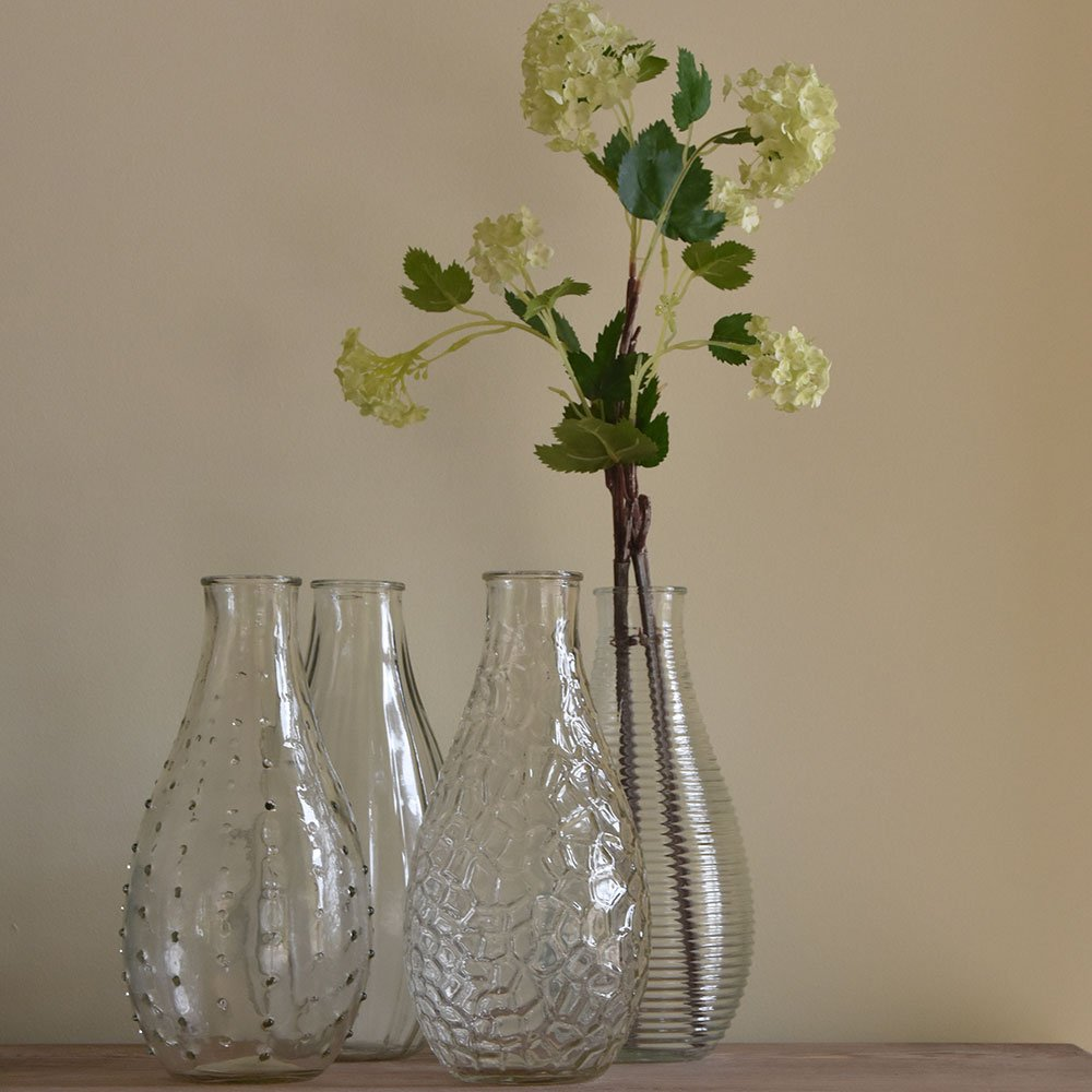 Large bottle vase - 4 designs