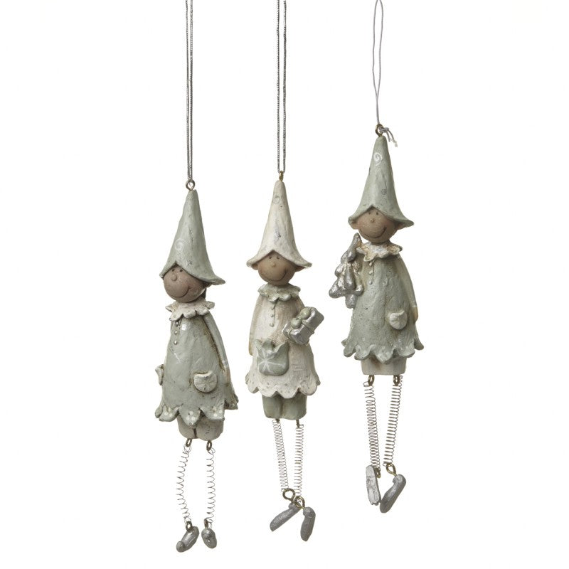 Hanging Elf Decoration
