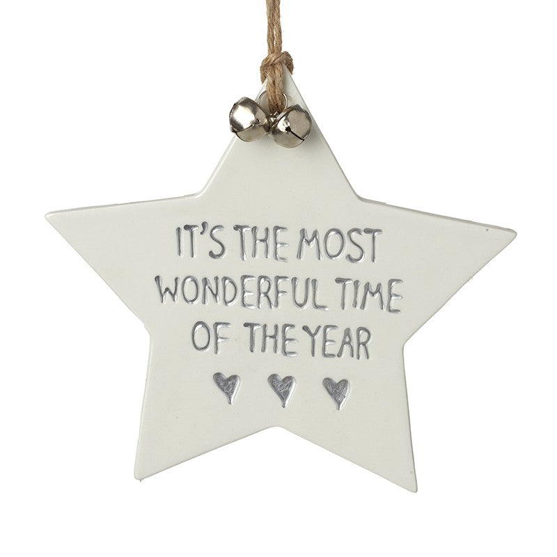 Most wonderful time of the year star