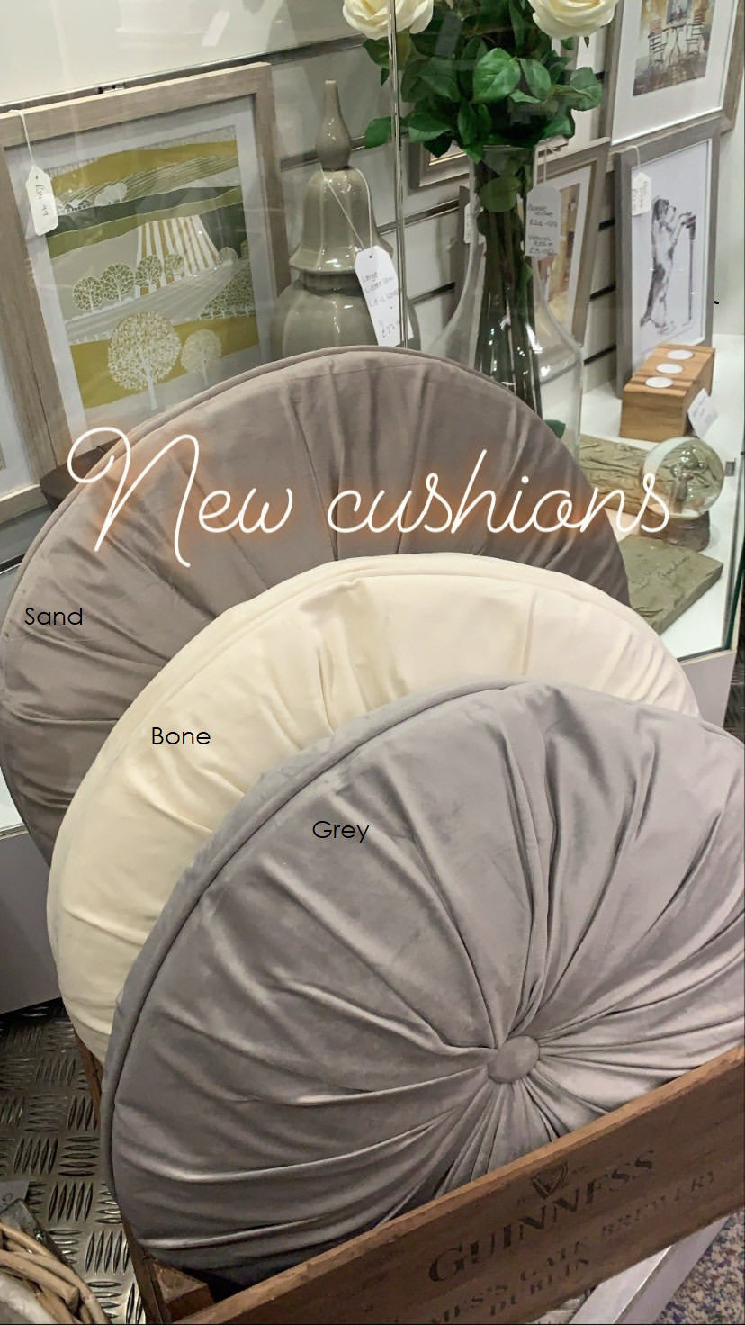Round Cushion - 3 Colours