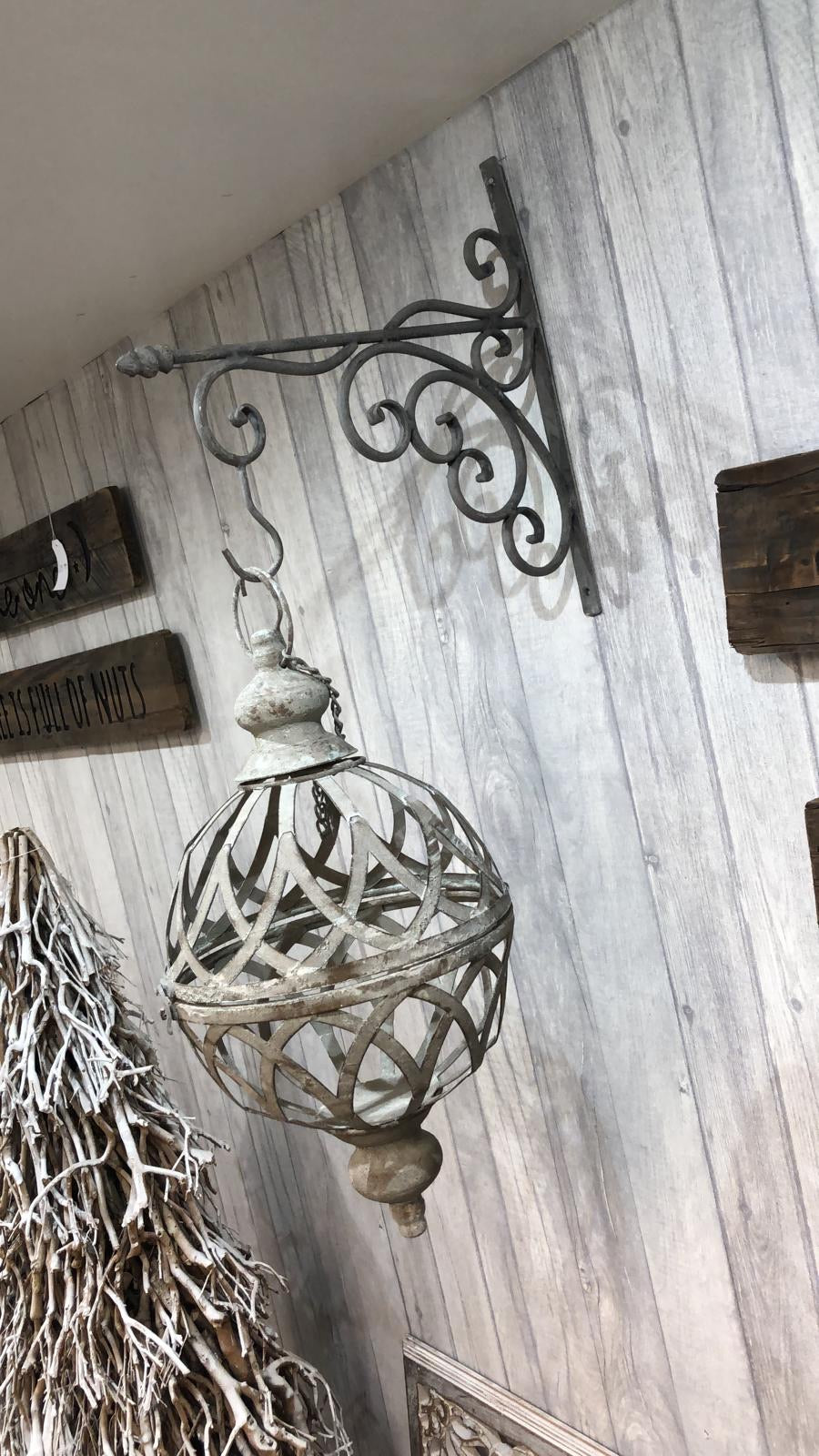 Hanging Orb & Bracket