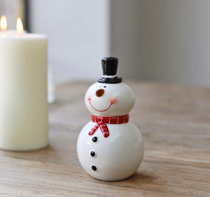 Ceramic Snowmen - 2 Sizes