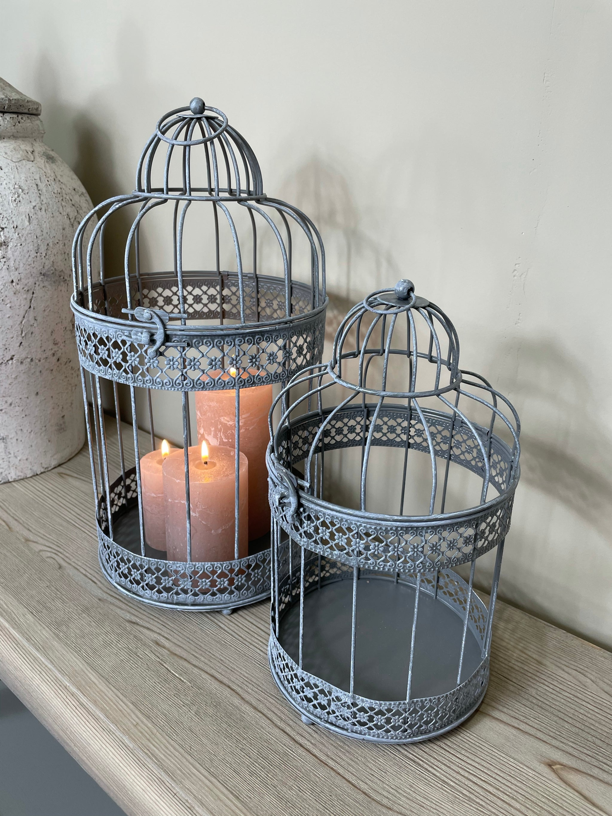 Grey Birdcages