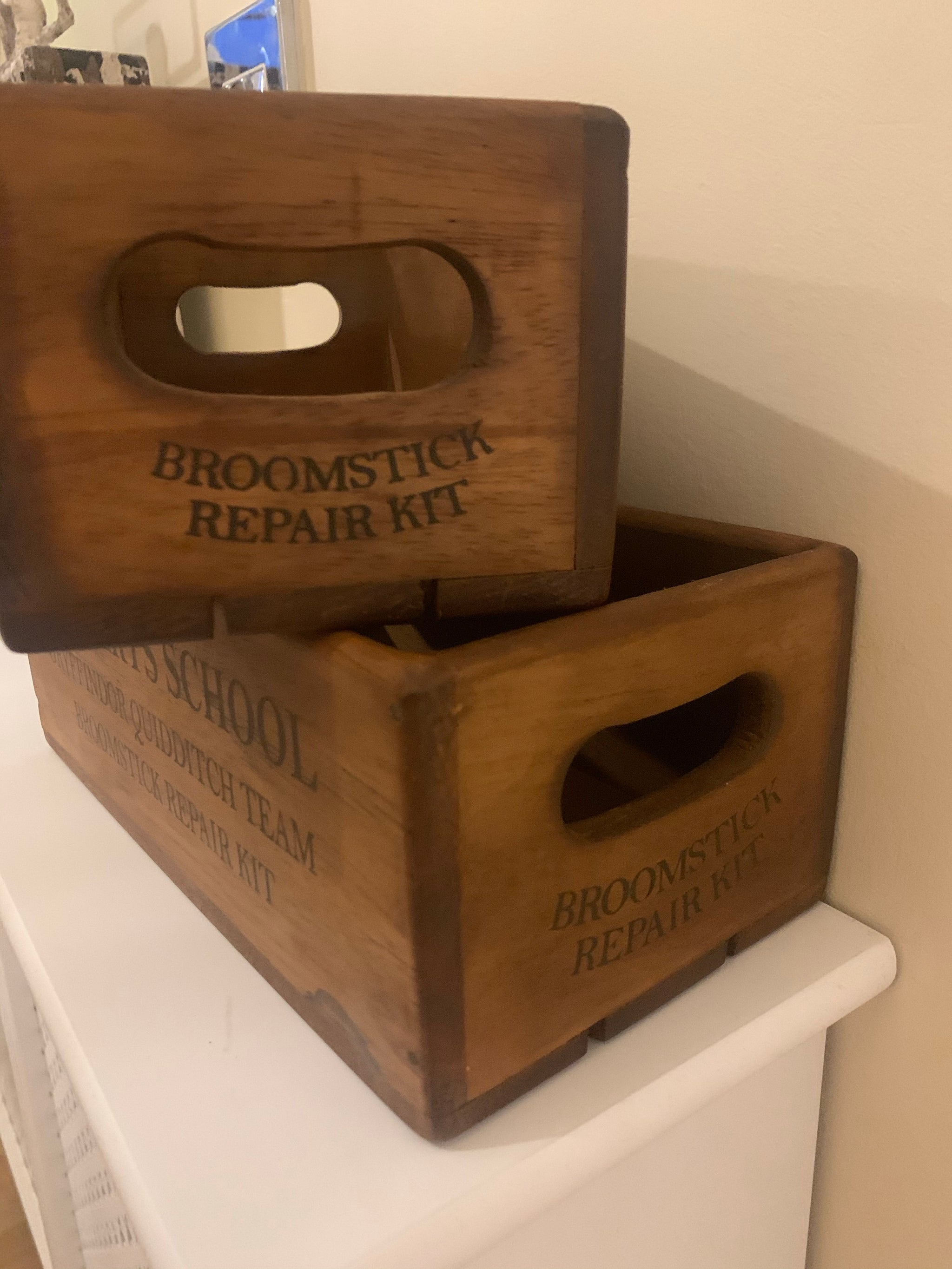 Pair of Hogwarts Crates