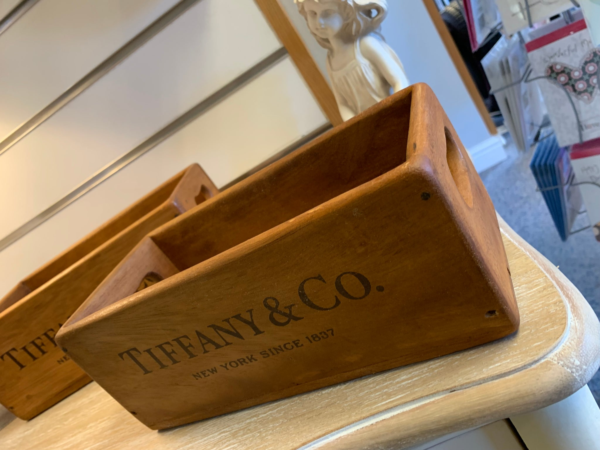 Tiffany & Co Crates - JULY DELIVERY.