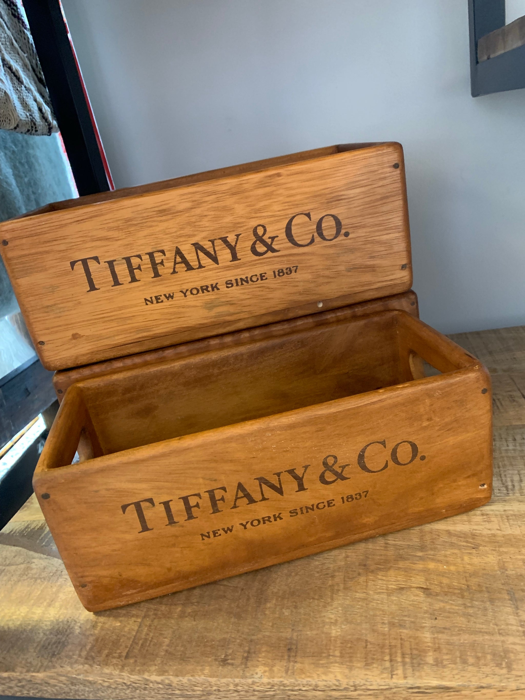Tiffany & Co Crates