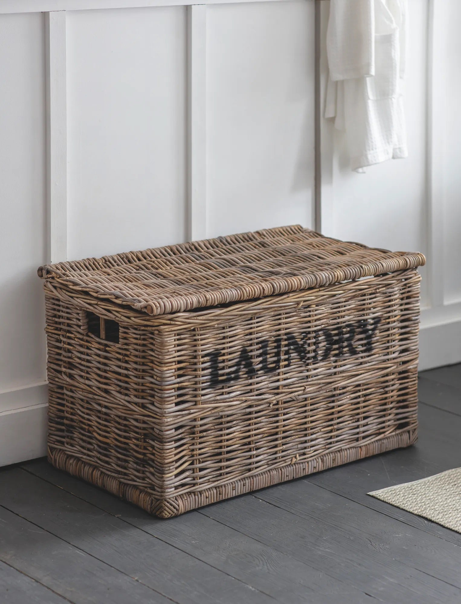Rattan Laundry Basket , Lights and Darks*BACK IN STOCK JULY*